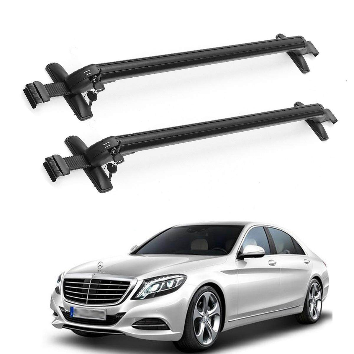 Black Anti Theft Car Roof Bars For Universal Cars Lockable Aluminum Bars Rack By Audew.