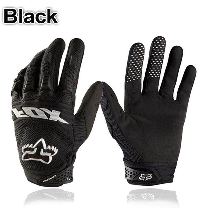 Mo Hot Full Finger Motorcycle Gloves Leather Fabric Wear-Resistant Motorbike Guantes Gloves By Moo Fashion.