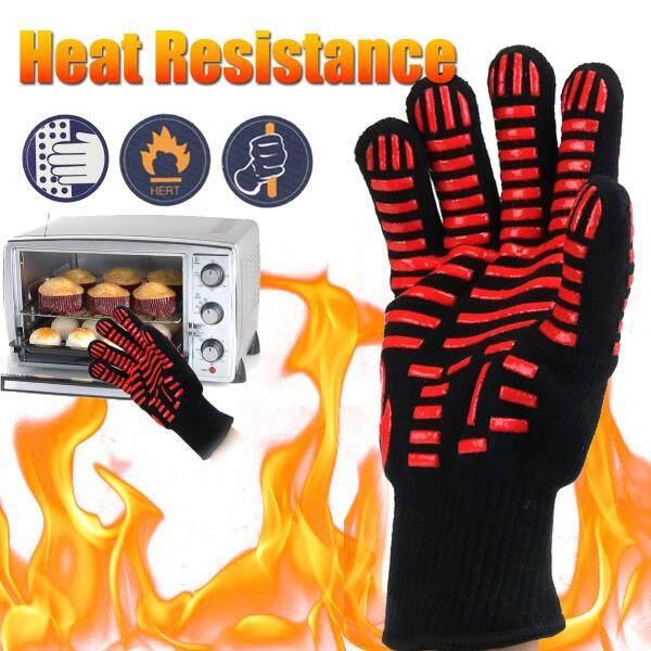 Găng Tay Chịu Nhiệt Cực Cao 500 ℃ Lò Nướng BBQ Nồi Nướng Nấu Nướng Baking Weld Mitt - One