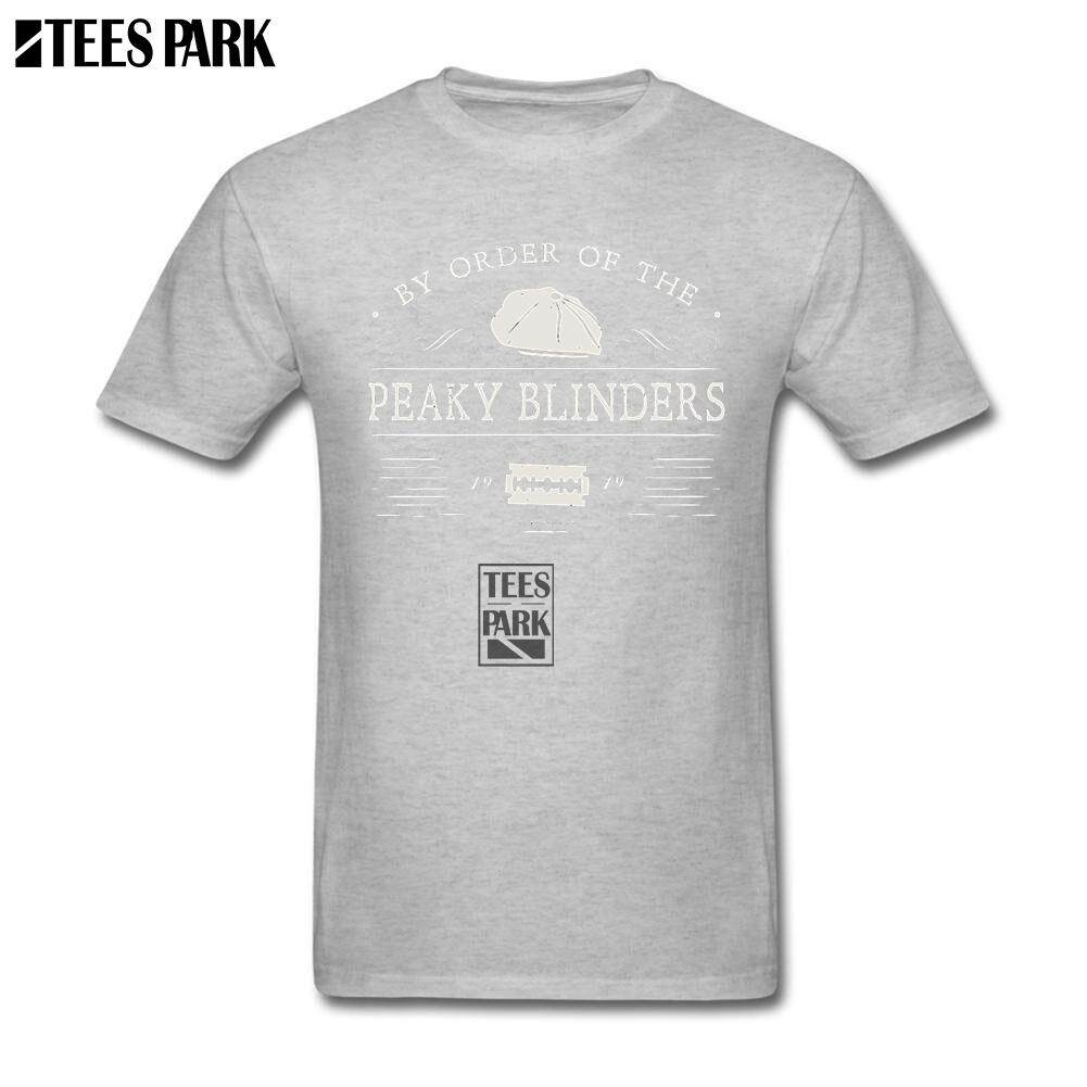 bd7cee362b Peaky Blinders Thomas Shelby TV Show Casual T Shirts Male Slim Fit Short  Sleeve Tee Shirts
