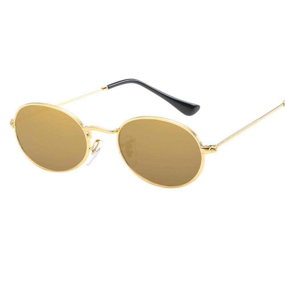 Qimiao Bergaya Wanita Warna Film Lingkaran Reflektif Kacamata Hitam Kacamata Mengemudi Hadiah Ulang Tahun Model: