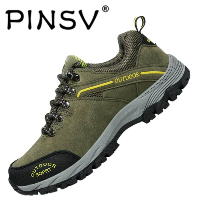 PINSV Shoes Fashion Outdoor Soft And Wear-Resistance Big Size Climbing Shoes  Comfortable And Durable 2c87777f3f