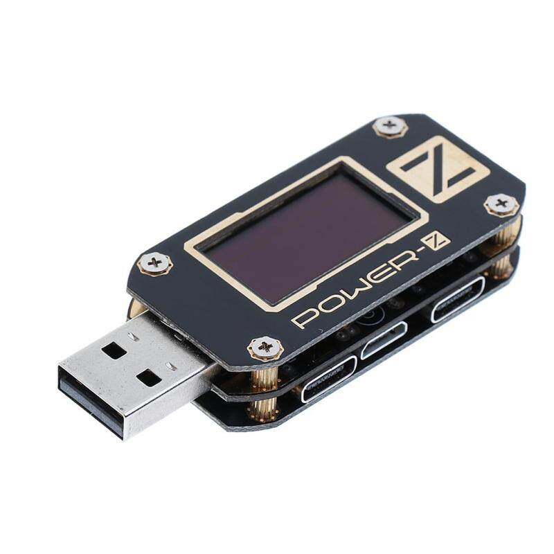 MagiDeal USB PD QC3.0/QC2.0 Voltage Current Tester USB Ripple Meter with OLED Display