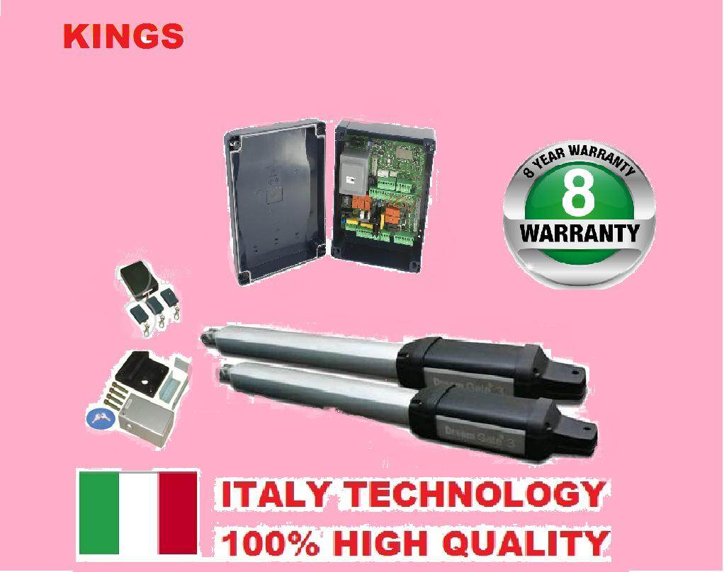 ( ITALY DEVICE ) DREAM HOME GATE HEAVY DUTY AUTOGATE / AUTO GATE SYSTEM ( 8 YEARS WARRANTY )