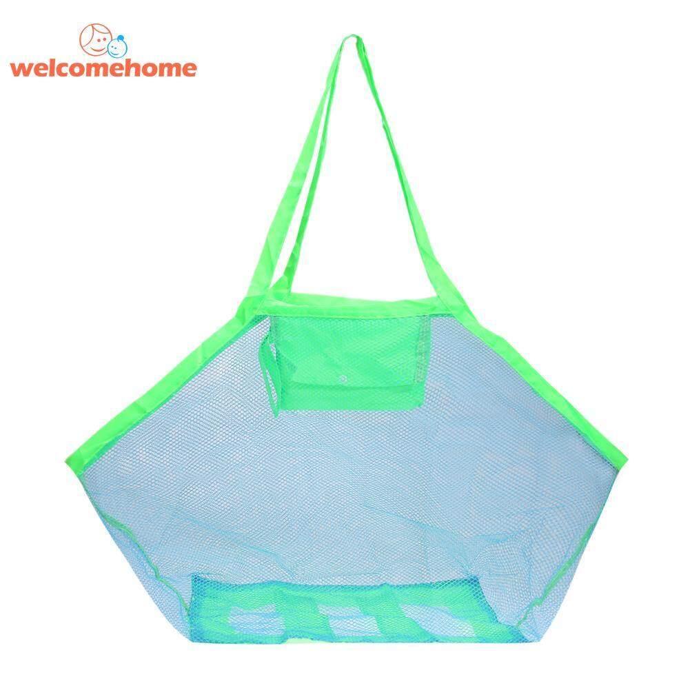 Tas Jaring Pantai Bayi Mainan Mandi Tas Penyimpanan Pakaian Kantong Handuk Penyelenggara-Internasional By Welcomehome.