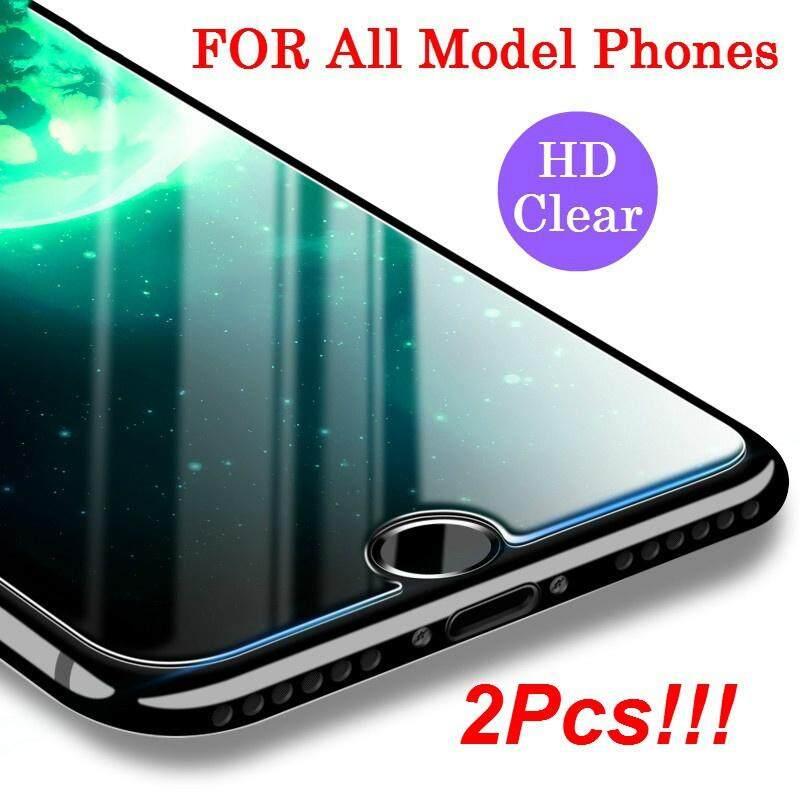 Untuk OPPO A3S Premium 9 H 0.3 Mm High-Definition Tembus Pandang Tahan Lama Ultra Ramping Film Clear Kaca Antigores Pelindung Layar untuk OPPO A5 (2 Pack)