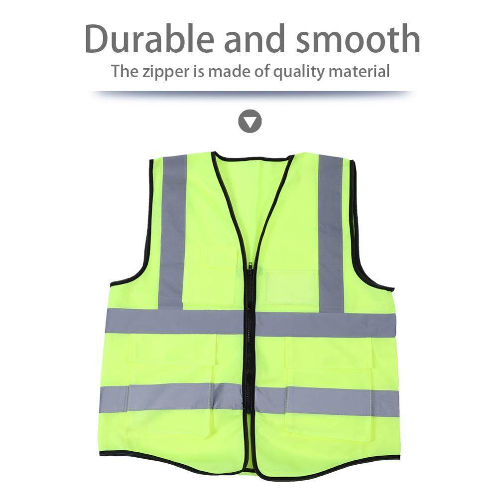 Multicolor Reflective Vest Safety Security Waistcoat - Intl By Duoqiao.