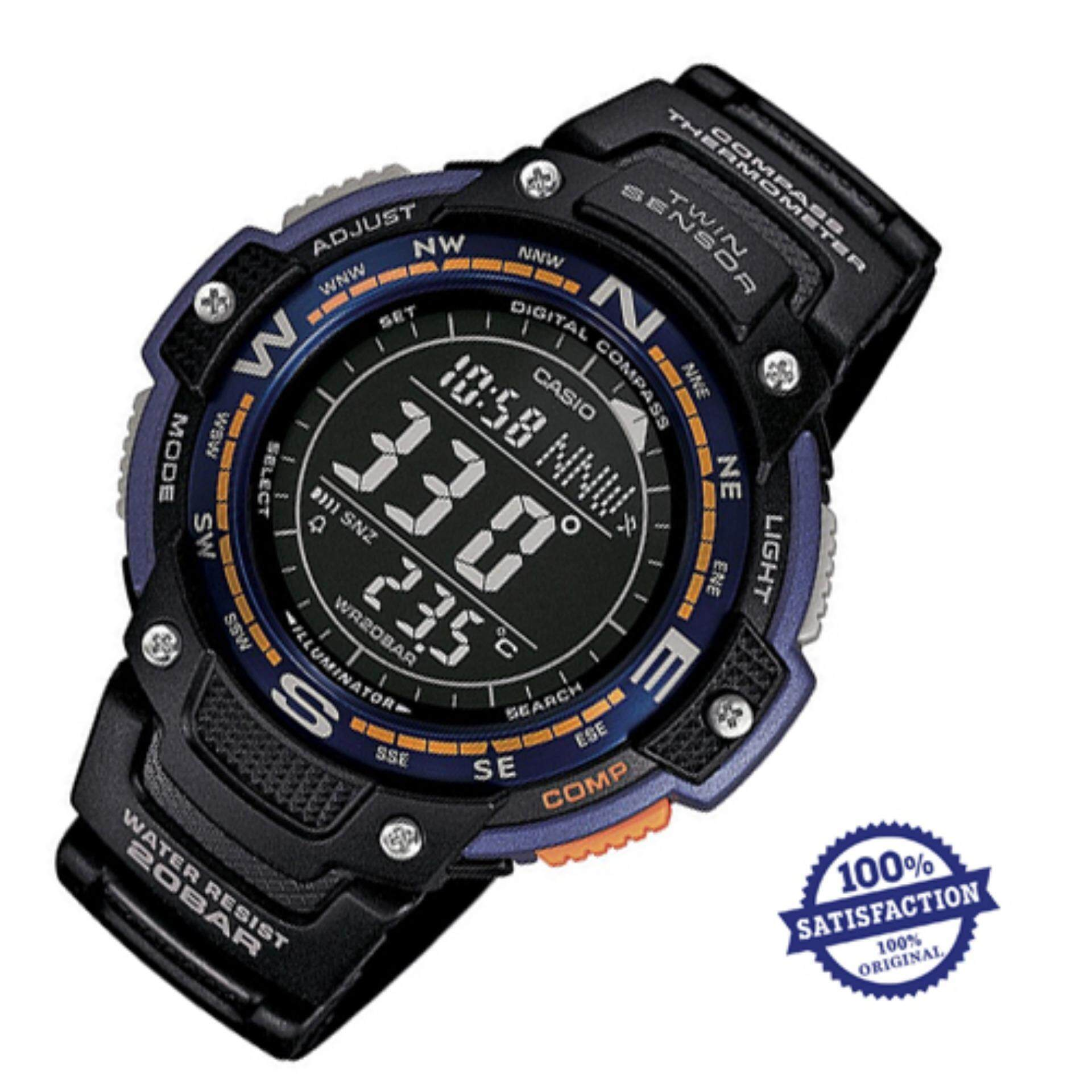 SGW100B 3V Sports Casio USA Source · Casio OutGear SGW 100 2B Twin Sensor Watch Men s Watch