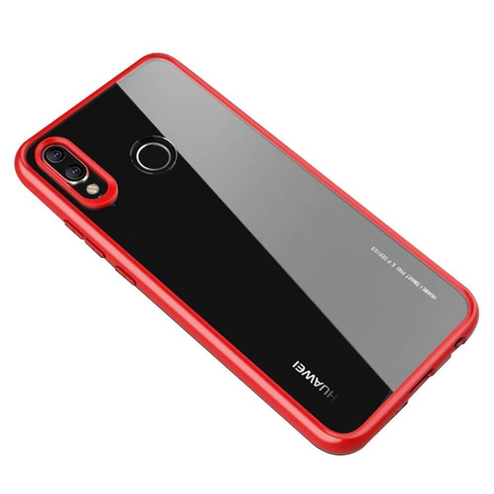 Hai Case untuk Huawei P20 Lite/Nova 3E 5.84 Inch Case Penuh Pelindung Anti-Menggaruk Ramping Transparent Lembut TPU Sampul Belakang-Internasional