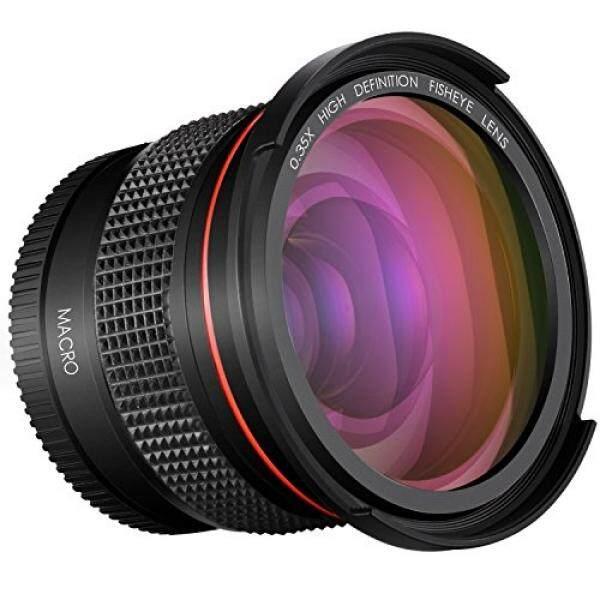 Neewer 52 Mm 0.35x PRO Lensa Besar Fisheye Sudut Lebar Lensa dengan Penutup Makro-Up Bagian Untuk Nikon DSLR D3300 D3200 D3100 d5500 D5300 D5200 D5100 Pentax K-30 K-50 K-500 K-5 K-5 II Kamera DSLR-Intl
