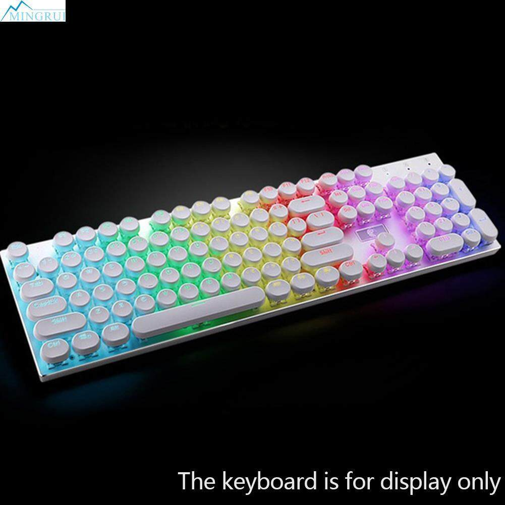 104Pcs ABS Round Key Caps Backlight For Cross Axis Mechanical Keyboard Malaysia
