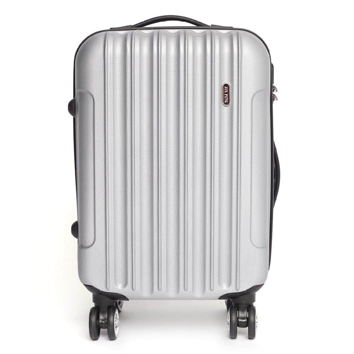 Voyage Hard Case ABS Luggage Bagasi- 20 Inches (Silver)