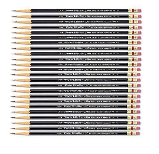 Paper Mate Mirado HB #2 Black Warrior Woodcase Pencil 24 count PAP2254 - intl