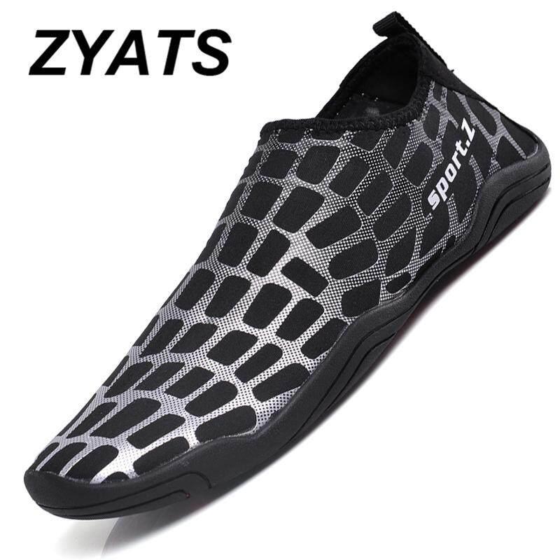 Zyats Air Sepatu Pria Orangtua-anak Sepatu Musim Panas Kualitas Terbaik Berenang dan Yoga Sepatu