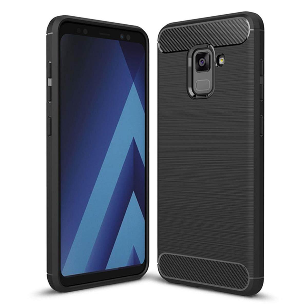 Hình ảnh for Samsung Galaxy A5(2018 Version) Case Carbon Fibre Hairline Ultrathin Soft TPU Back Case Cover, Light, Minimalist, Non-slip, Shockproof, Anti-scratch
