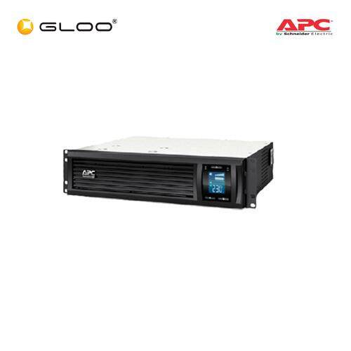 [Pre-Order] APC Smart-UPS C 1000VA Rack Mountable LCD RM 2U 230V SMC1000I-2U - Black
