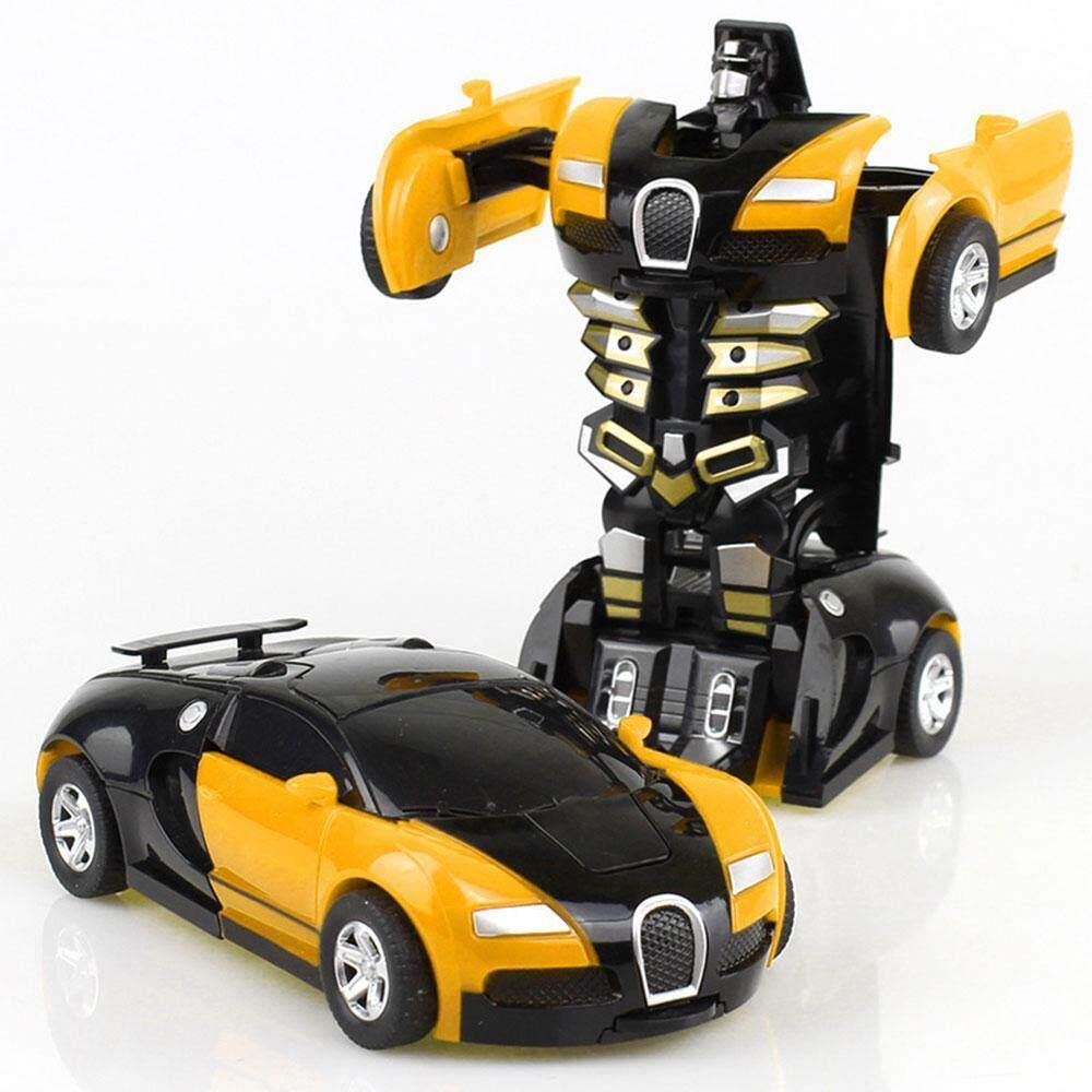 Lightsmile Deformasi Robot Mobil, Mini Deformasi Robot Mobil Bugatti Manual Transformer Mainan Mobil Inersia Transformasi Mainan Kendaraan Model Untuk Anak-Anak By Lightsmile.