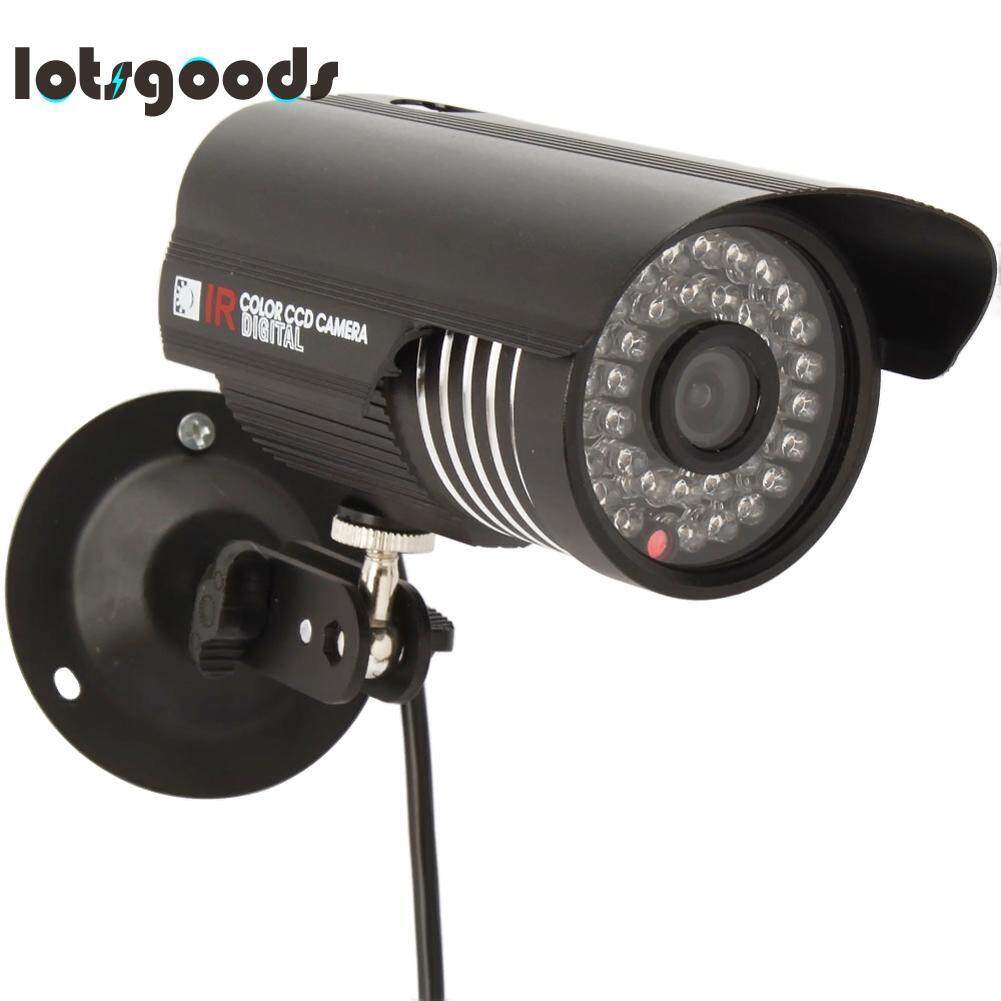 Outdoor Waterproof Hd Cmos 1000tvl 36 Led Ir-Cut Cylinder Cctv Security Cam By Lotsgoods.