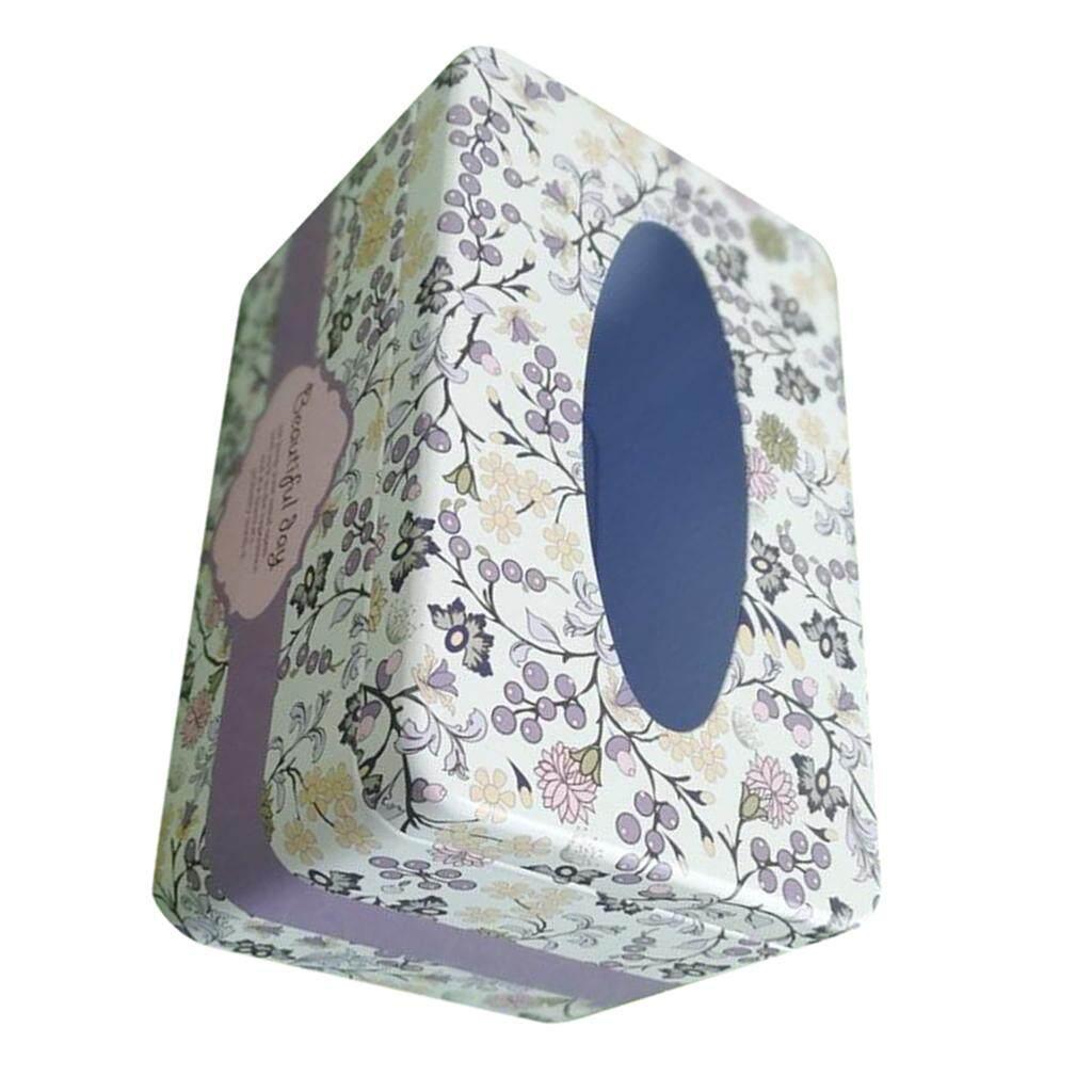 ราคาดีที่สุด BolehDeals Tissue Box Cover Napkin Holder Car Paper Storage Container Tin Case Kitchen ล่าสุด