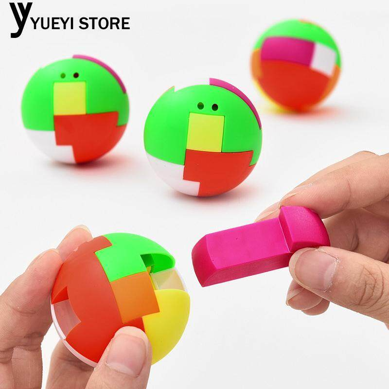 Hình ảnh YYSL Balls Blocks Plastic 6 Block DIY Baby Toys Educational Magic Boy Gifts