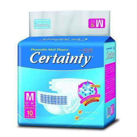 Certainty Adult Diapers (M size)