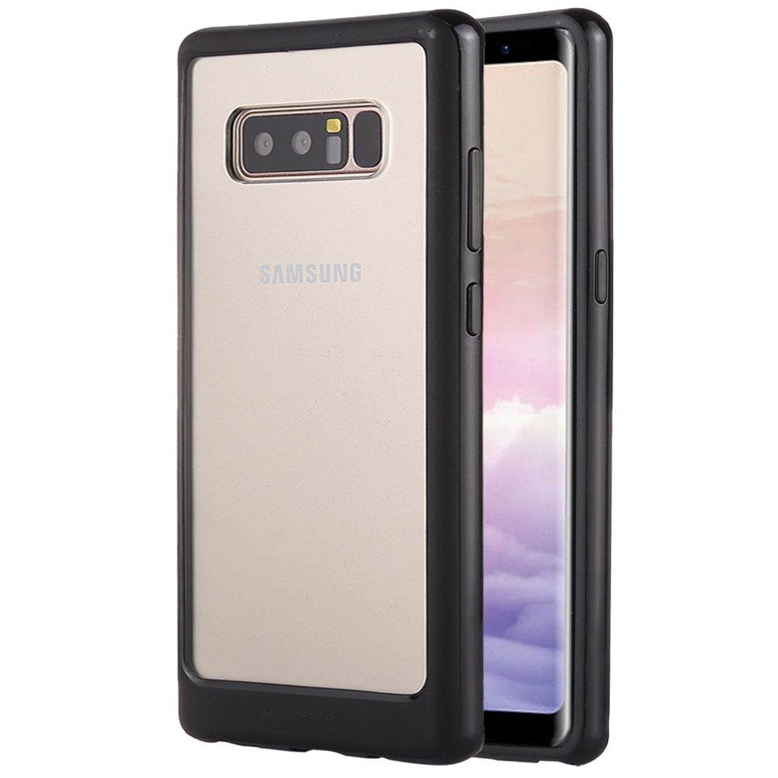 Buy Sell Cheapest Goospery New Bumper Best Quality Product Deals Iphone X Case Silver For Galaxy Note 8 Pc Tpu Shockproof Hard Protective Back