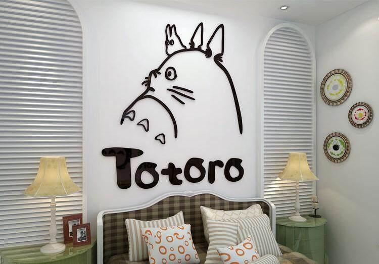 3D Totoro Wall Decoration(110 x 120cm)