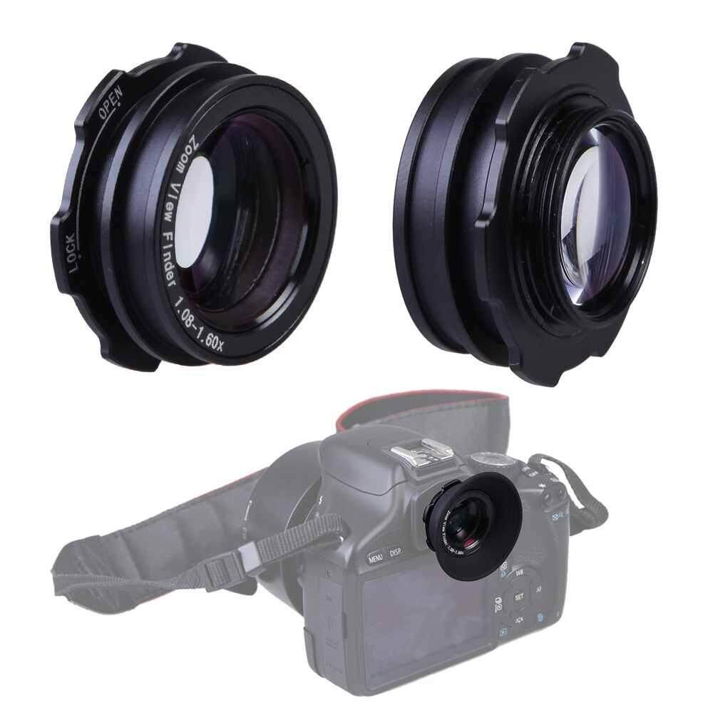 Zoom viewfinder magnifier for Canon Nikon Pentax Sony Olympus Fujifim Samsung
