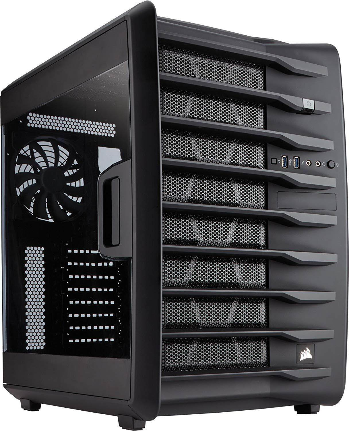 Corsair Carbide Air 740 Arctic High Airflow ATX Cube Case Malaysia