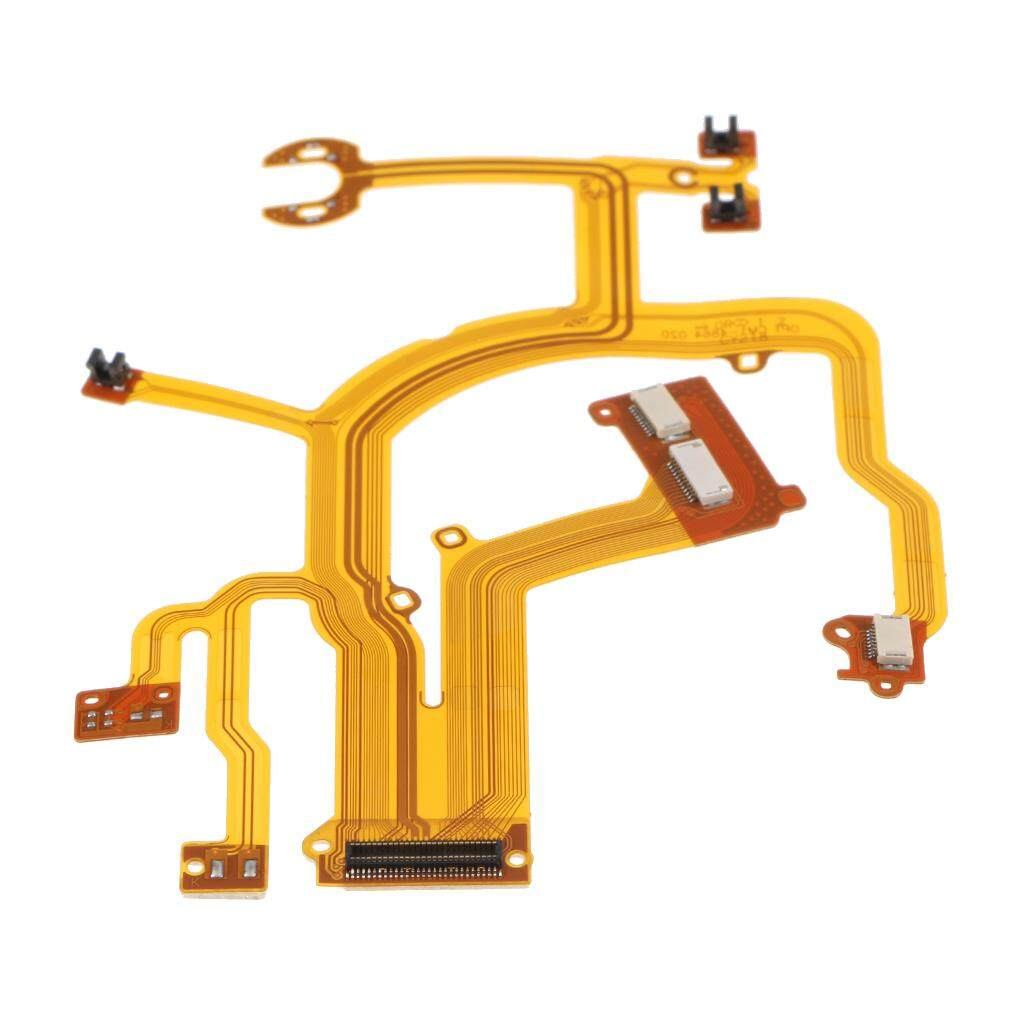 Miracle Shining Lens Back Main Flex Cable FPC Repair Part for Canon G10 G11 G12 with Socket