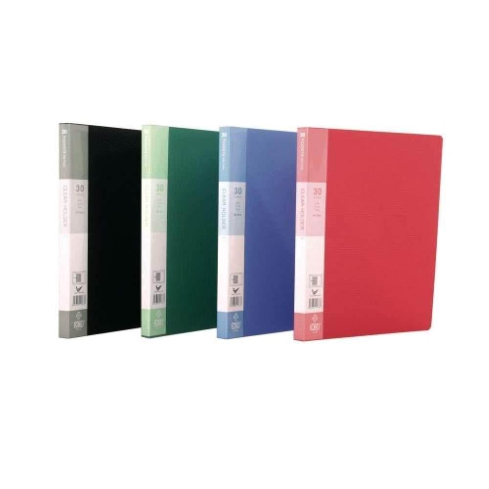 CBE Basal Colour Clear Holder 76030 A4 (30 Pockets) (Item No: B10-60) A1R5B25