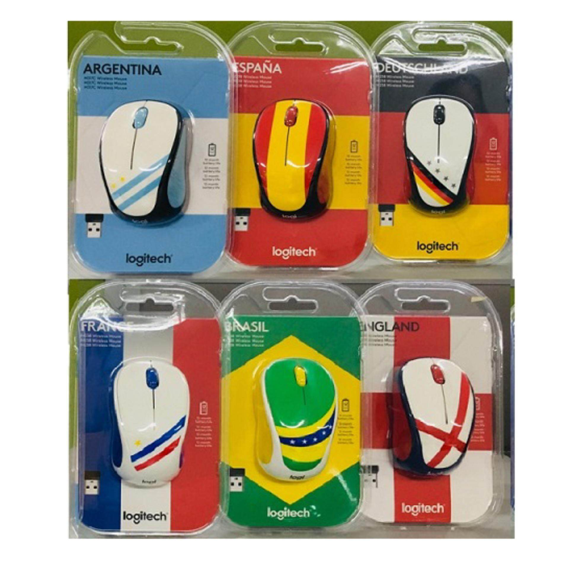 Features Logitech M238 World Cup Team Fan Collection Wireless Mouse Party Toucan France Brazil Germany Argentina