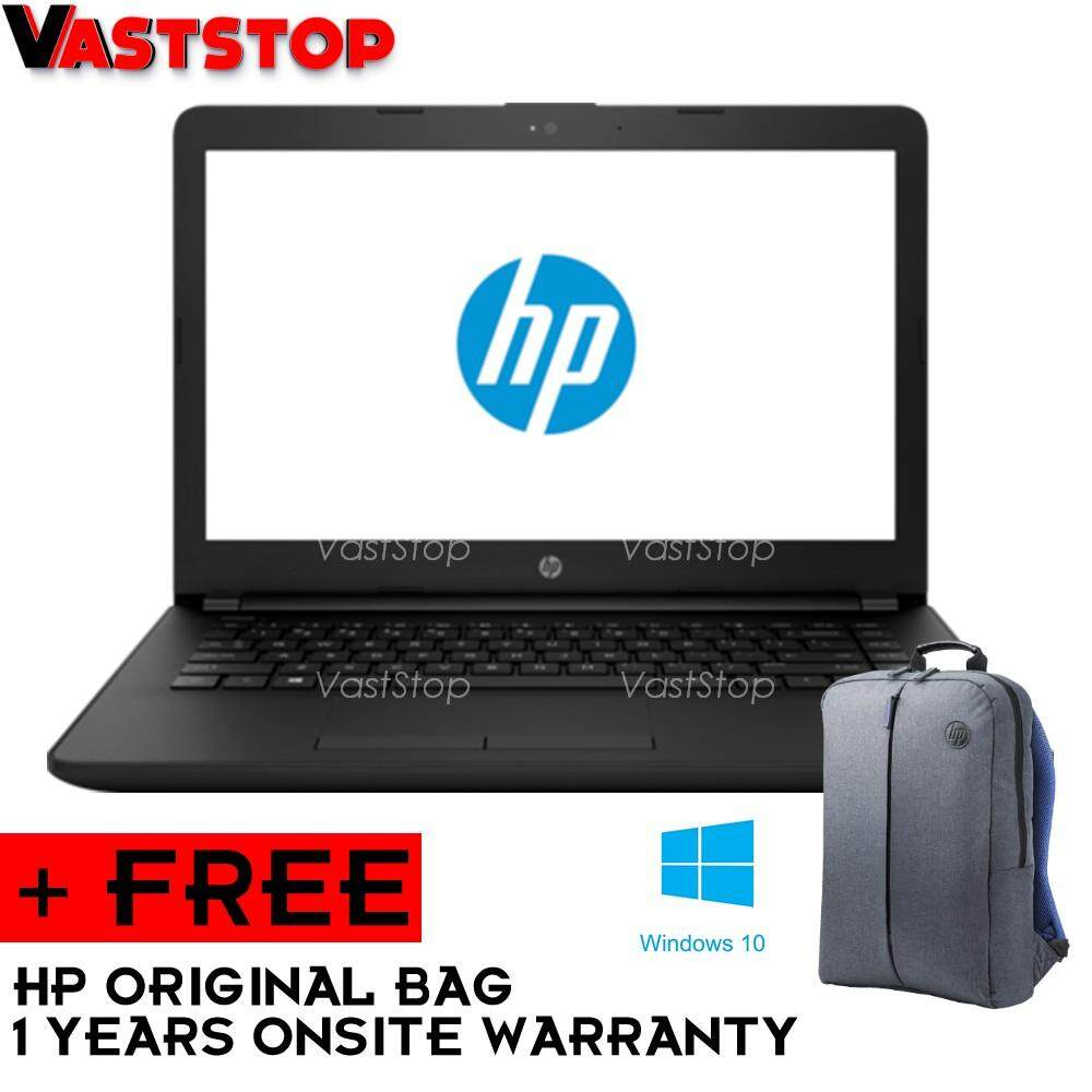 HP Notebook Black 14-bS580TU(I3-6006/4GB/1TB/W10/14) Malaysia