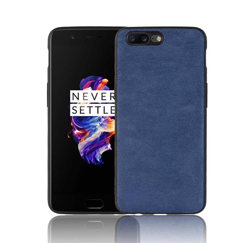 Happon Case untuk OnePlus 5 Case Ponsel Casing Belakang TPU + PC Hibrida Cover Tahan Guncangan