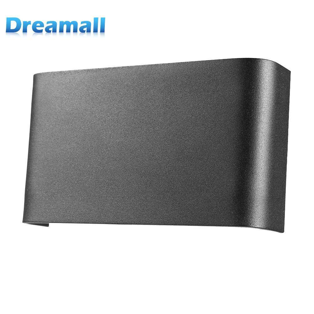 7W LED Aluminium Wall Lamps Ultra-Thin Rectangle Bedside Bedroom Lights