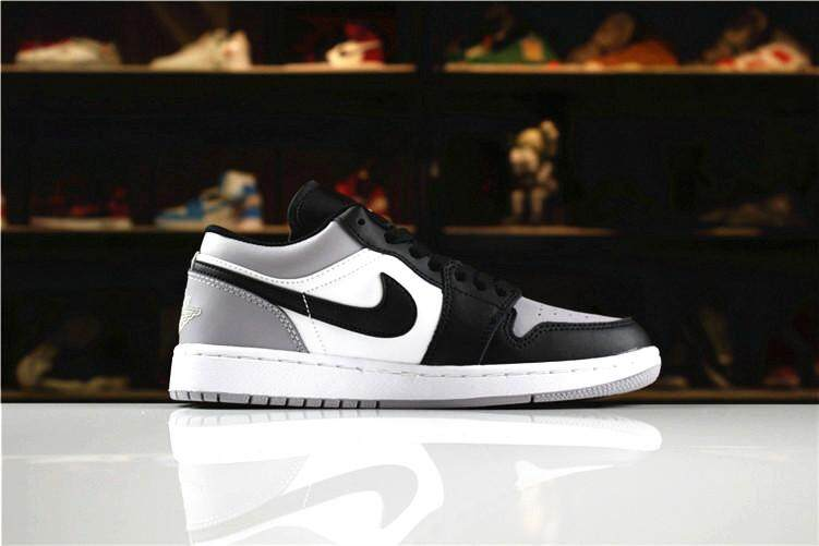 "1bb1a1fa66b06b Nike Original Michael Jordan 1 Men s Basketaball Shoe Black Grey Global  Sales MJ AJ ""Atmosphere"