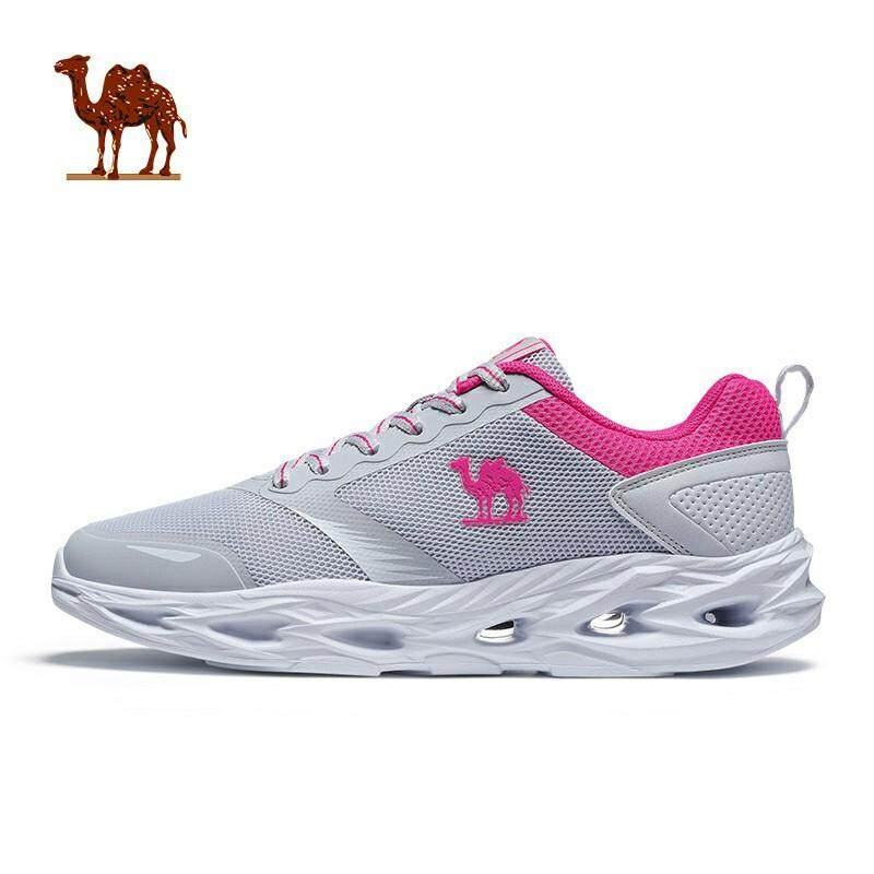 Camel Women's casual lightweight sneakers Anti-skid breathable sports shoes comfortable fashion mesh upper running shoes