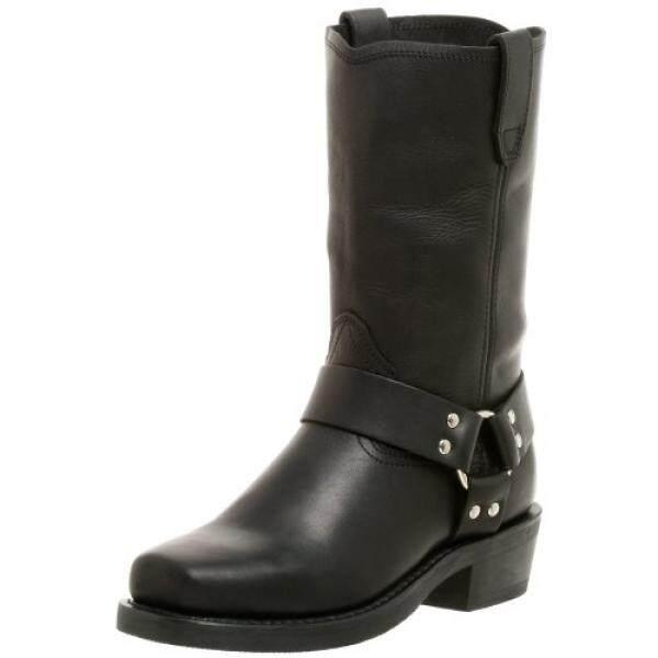 Dingo Mens Dean Boot,Black,10.5 D US - intl
