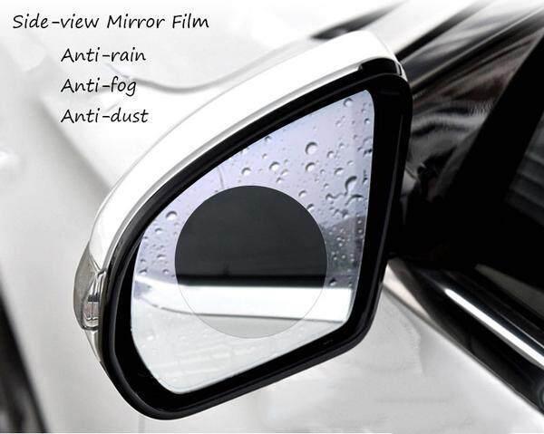 2 Pcs 100mm x 150mm Side Mirror Glass Film Rainproof Car Rearview Car Anti Water Film Protective Film Anti-fog Anti-scratch Rain
