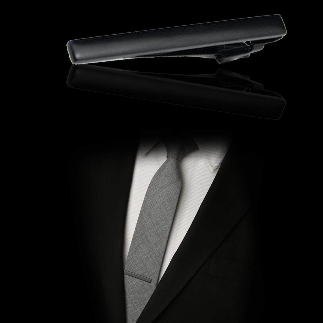 Kelebihan Vintage Man Stainless Steel Necktie Tie Clasps Clip Pin Houseofcuff Leather Gift Black Detail Gambar Bar Intl Terbaru