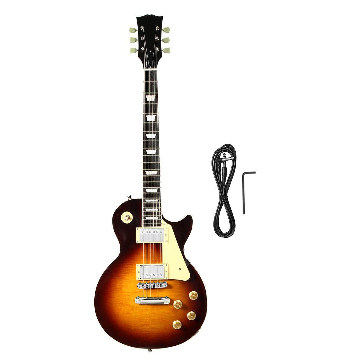 Hot Sell Lp Standard Electric Guitar Cherry Burst Color Figured Maple Top - Intl By Audew.