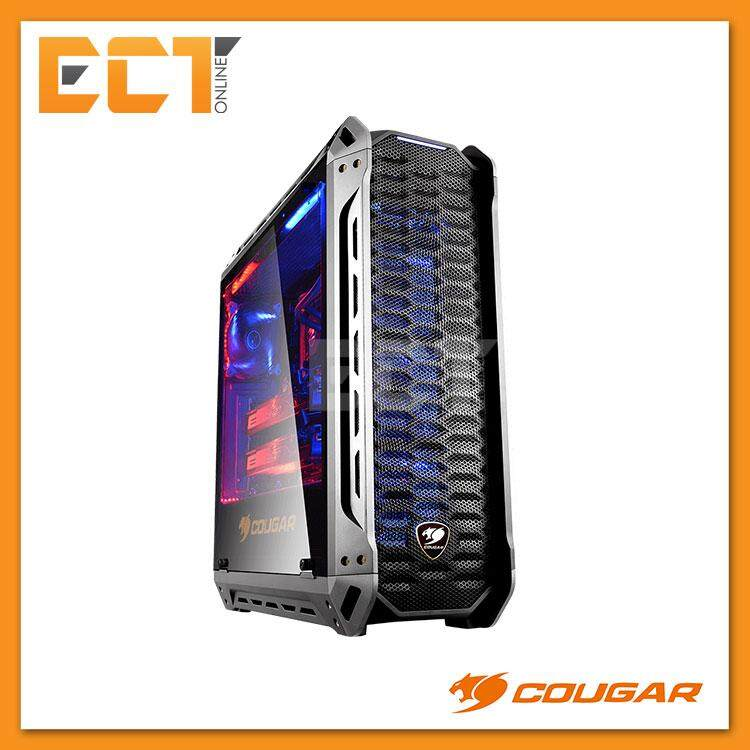 Cougar PANZER-S Mid-Tower Tempered Glass Gaming Casing / Chasis Malaysia