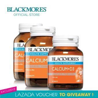Blackmores Calcium + D3 120s x 2 + Calcium + D3 30s