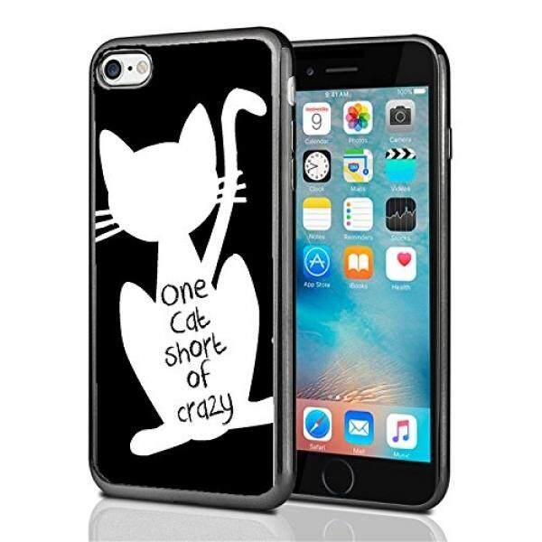 Smartphone Case S Kucing Pendek Gila untuk iPhone 7 (2016) & iPhone 8 (2017) case Cover Atom Pasar-Intl