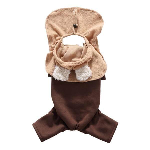 Bergaya Jin Desain Gaun Anjing Pakaian Hewan Peliharaan Pakaian Pesta Halloween Rompi Kemeja dengan Topi