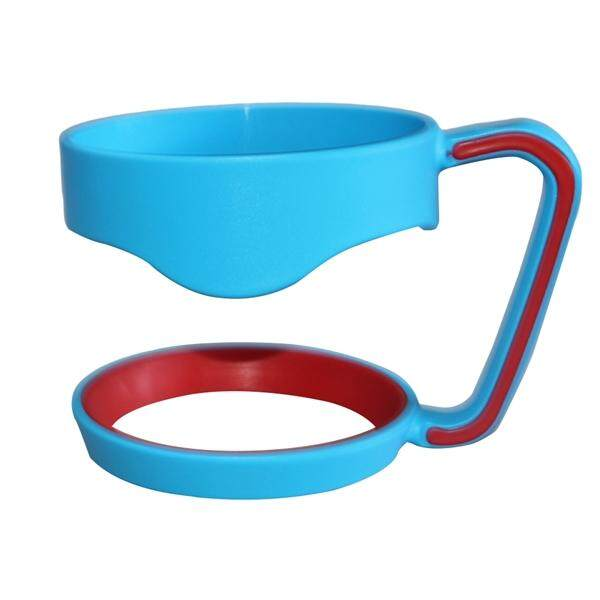 Handle untuk 30 Oz Gelas Ringan Anti Tumpah Pegangan Portable Anti-Slip Pegangan Botol untuk Yeti Rtic Ozark Trail Sic Cangkir rambler & Lebih Tumbler Perjalanan Air Cangkir Kopi