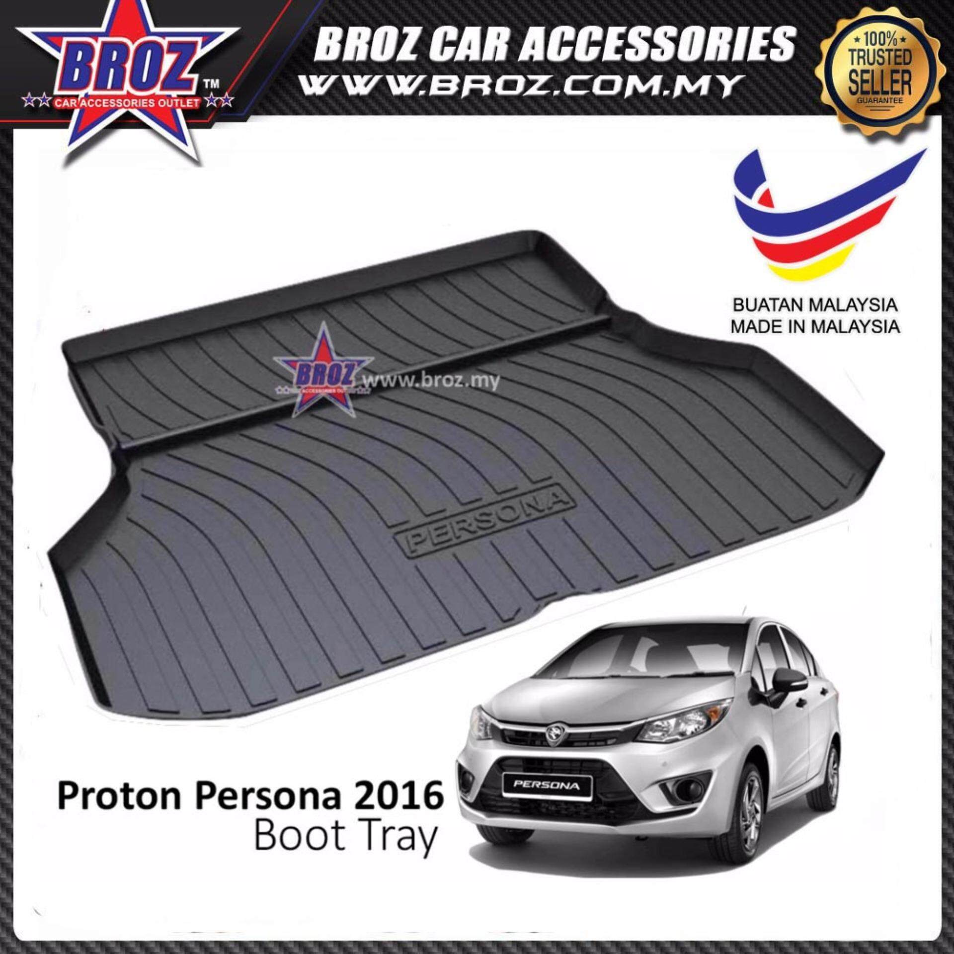 Proton Persona 2016-2018 ABS Car Rear Boot Trunk Tray
