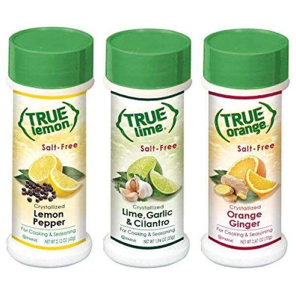 Tupperware Salt & Pepper Shaker Sets True Lemon Pepper, Orange Ginger, & Lime Garlic Cilantro Spice Shaker Kit - intl