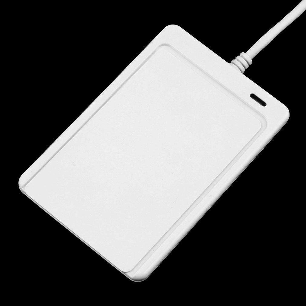 Chunnuan 1 Set USB Profesional ACR122U NFC Kartu Cerdas RFID Reader untuk Semua 4 Jenis NFC (ISO/IEC18092) kategori + 5 Pcs M1 Kartu-Intl