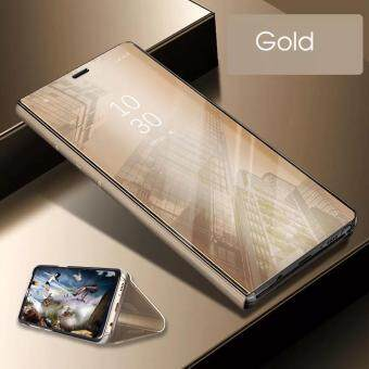 การซื้อของ สินค้า ดูกระจกสมาร์ทเคสโทรศัพท์สำหรับ OPPO F5 A73 พลิก